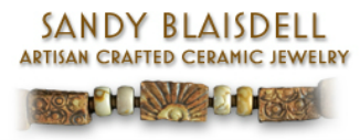 Sandy Blaisdell Artisan Crafted Ceramic Jewelry in Durango, Colorado